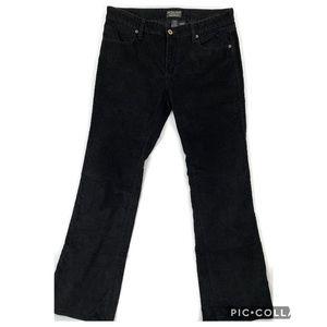 Ralph Lauren corduroy black flap pockets